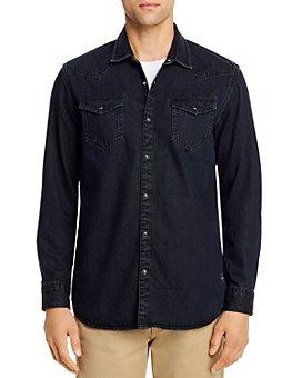 Scotch & Soda - Western-Style Regular Fit Denim Shirt