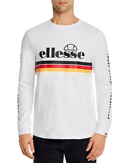 ellesse - Zete Graphic Logo Long-Sleeve Tee