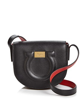 Salvatore Ferragamo - City Leather Saddle Crossbody