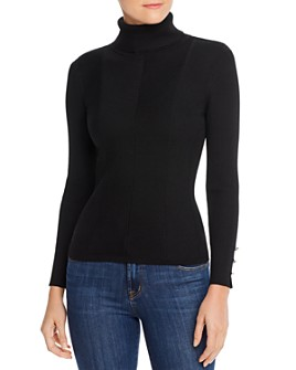 T Tahari - Ribbed Turtleneck Sweater