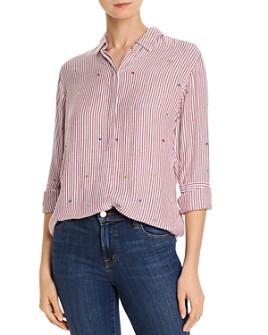 Rails - Taylor Heart Striped Shirt