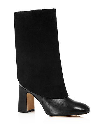 Stuart Weitzman - Women's Lucinda Fold-Over Knee-High Boots