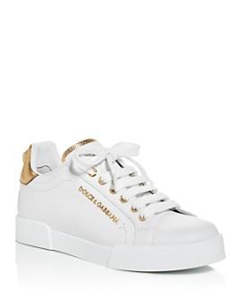 Dolce & Gabbana - Women's Low-Top Sneakers