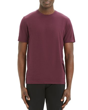 Theory - Incisive Silk-Cotton Clean Tee