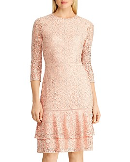 Ralph Lauren - Lace Drop-Waist Dress
