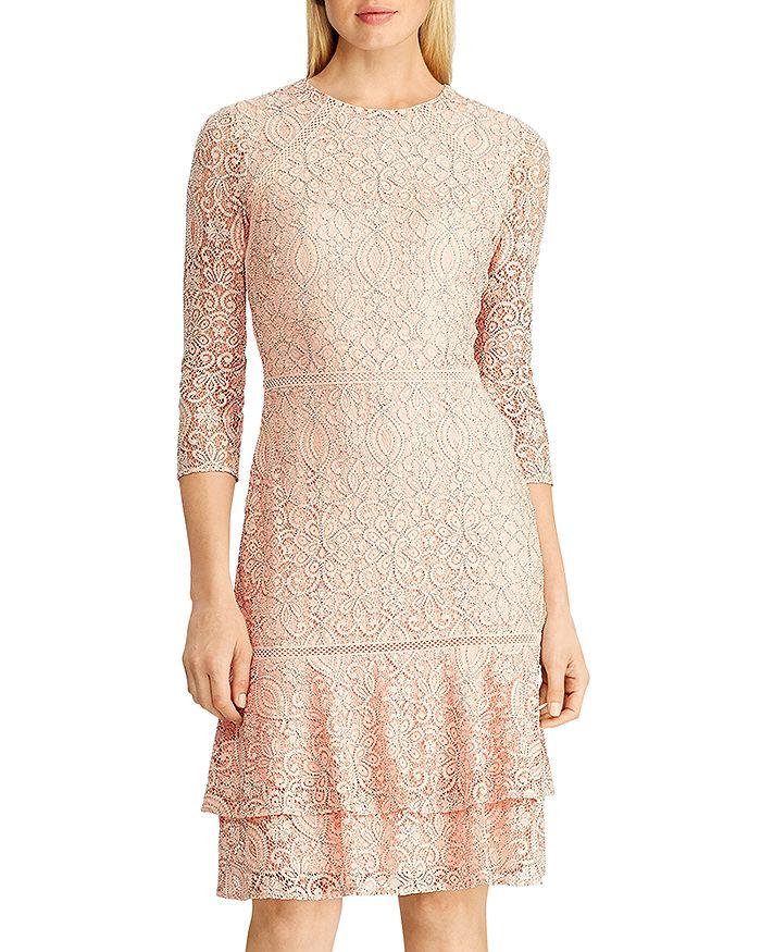 Ralph Lauren - Lace Drop-Waist Dress
