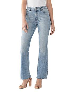 DL1961 - Bridget High-Rise Boot-Cut Jeans in Aurora