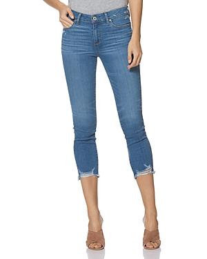 Paige Skyline Crop Skinny Jeans in North Star-Women