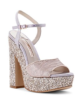 Sophia Webster - Women's Juju Glitter Platform Sandals