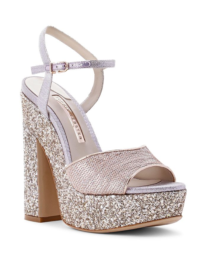 Sophia Webster - Women's Juju Glitter Platform Sandals