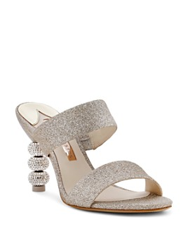 Sophia Webster - Women's Crystal High-Heel Mules