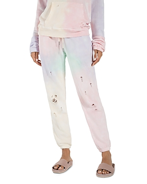 n:philanthropy Derby Distressed Tie-Dye Jogger Pants