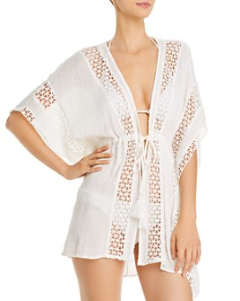 Surf Gypsy - Swiss Dot Tunic Swim Cover-Up