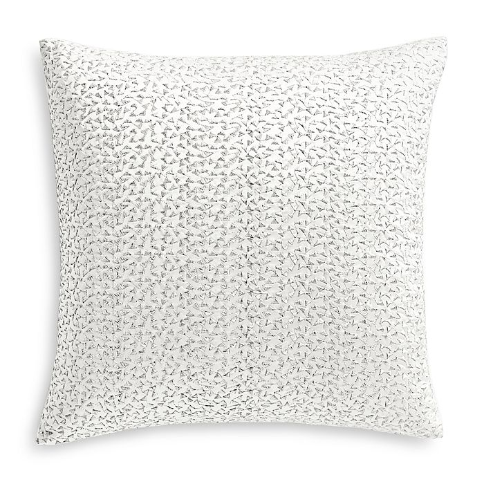 """Hudson Park Collection - Moderno Embroidered Decorative Pillow, 16"""" x 16"""" - 100% Exclusive"""