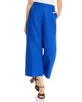 Weekend Max Mara - Angio Cropped Wide-Leg Pants