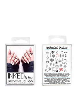 Inked by Dani - Temporary Tattoos - Finger Tats Pack