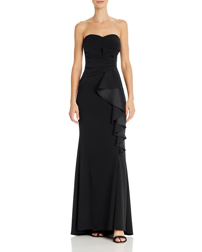 AQUA - Strapless Sweetheart Gown - 100% Exclusive