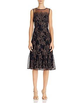 Adrianna Papell - Maria Lace Midi Dress