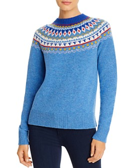 Tory Burch - Fair Isle Wool Sweater