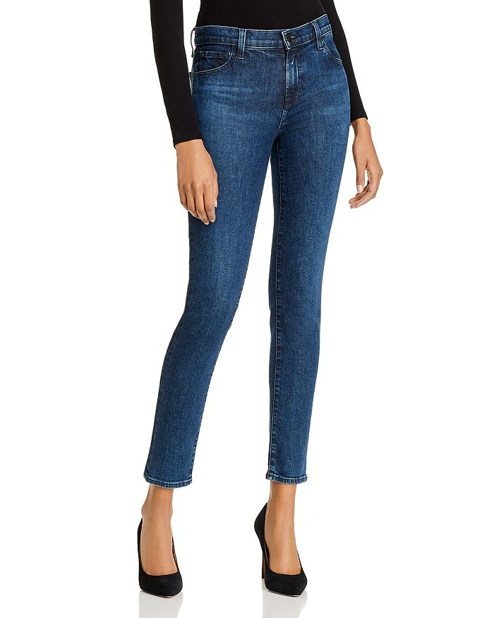J Brand Skinny jeans 811 MID-RISE SKINNY JEANS IN COMMIT