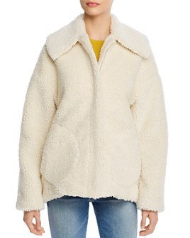 Theory - Pomona Cozy Faux-Shearling Jacket