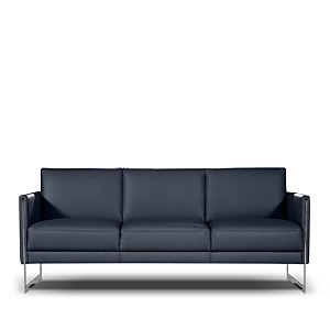 Only available at Bloomingdale\\\'s, this sleek and streamlined sofa from Nicoletti features knife edge arms and tonal piping that brings a modern flair to any setting.