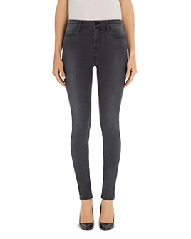 J Brand - Maria High-Rise Skinny Jeans in Night Bird