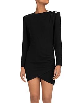 ba&sh - Sloane Button Detail Mini Dress