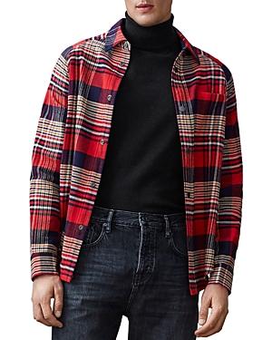 Scotch & Soda Slim Fit Flannel Shirt