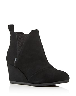 TOMS - Women's Kelsey Wedge Booties