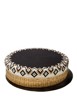DAR Projects - Mochica Round Floor Pouf