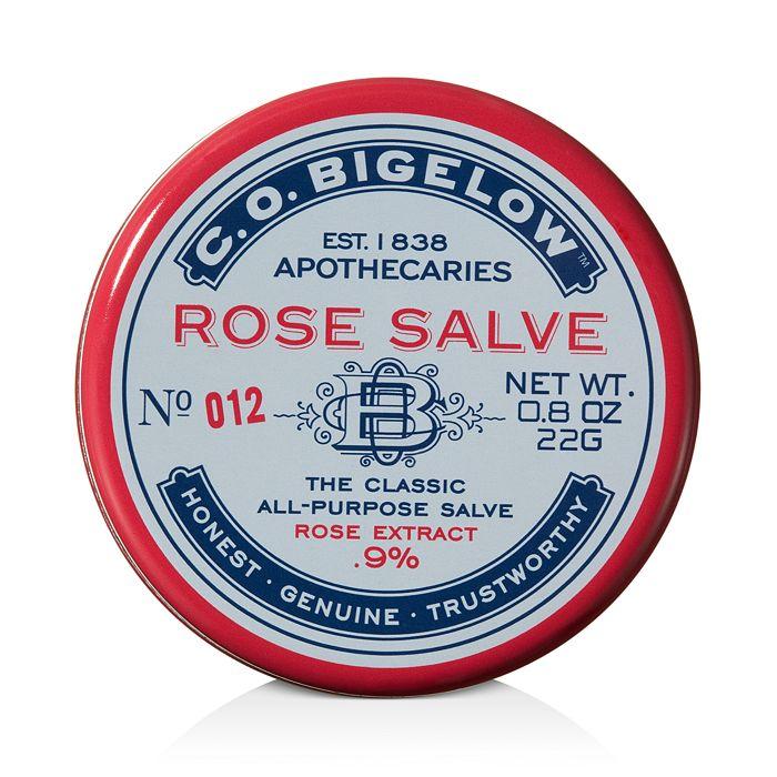 C.O. Bigelow - Rose Salve Tin - No. 012
