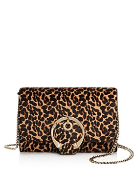 Jimmy Choo - Madeline Mini Leopard-Print Crossbody