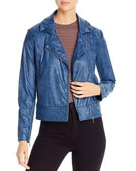Lyssé - Sienna Faux-Leather Moto Jacket