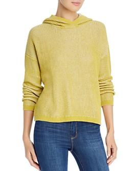 Eileen Fisher - Textured-Knit Hoodie