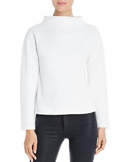 Eileen Fisher - Funnel-Neck Sweatshirt