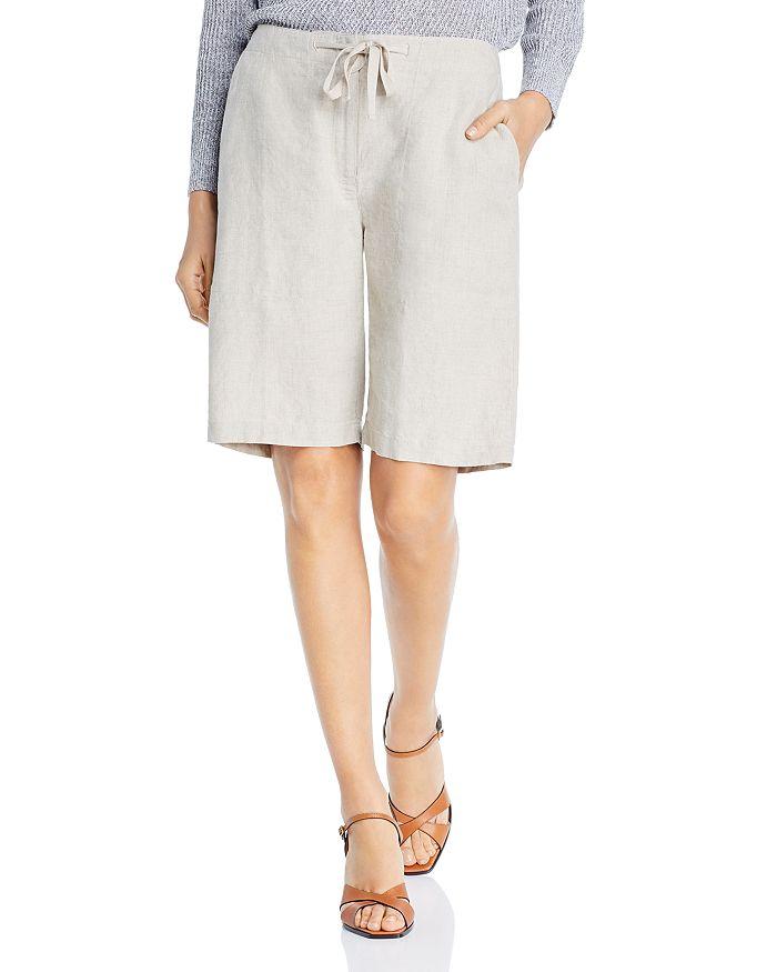 Eileen Fisher - Linen Drawstring Shorts