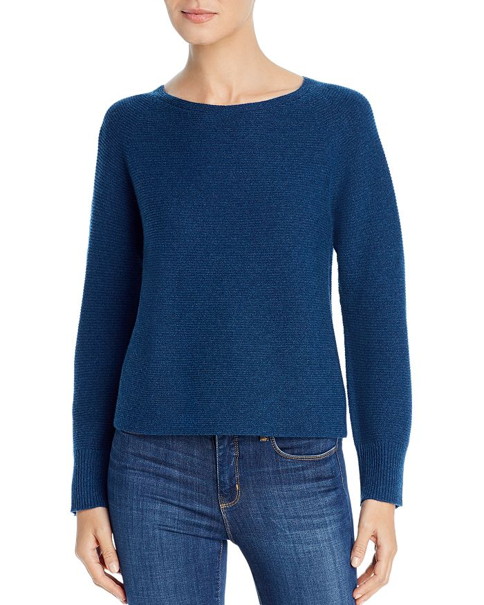 Eileen Fisher - Ribbed Cashmere Sweater