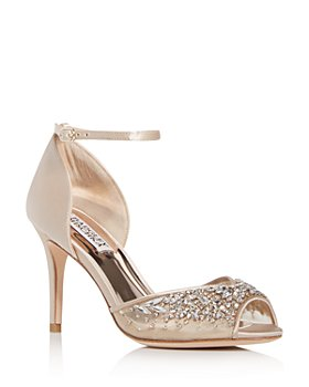 Badgley Mischka - Women's Opera Embellished High-Heel Sandals