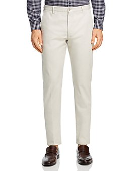 Zanella - Noah Garment-Dyed-Cotton & Linen-Stretch Slim-Fit Pants