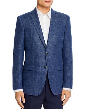 John Varvatos Star Usa Bleecker Textured Melange Slim Fit Sport Coat-Men