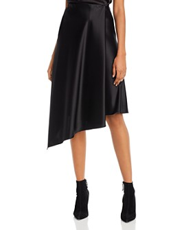 Alice and Olivia - Jayla Asymmetric Midi Skirt