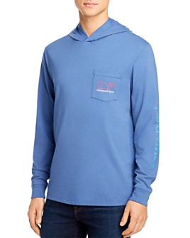 Vineyard Vines - Long-Sleeve Hooded Pocket Tee