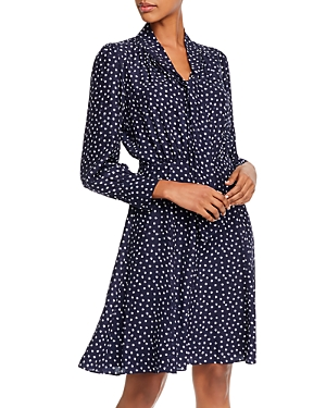 Rebecca Taylor Silk Heart Print Dress-Women