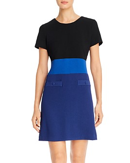 KARL LAGERFELD PARIS - Color-Block Dress