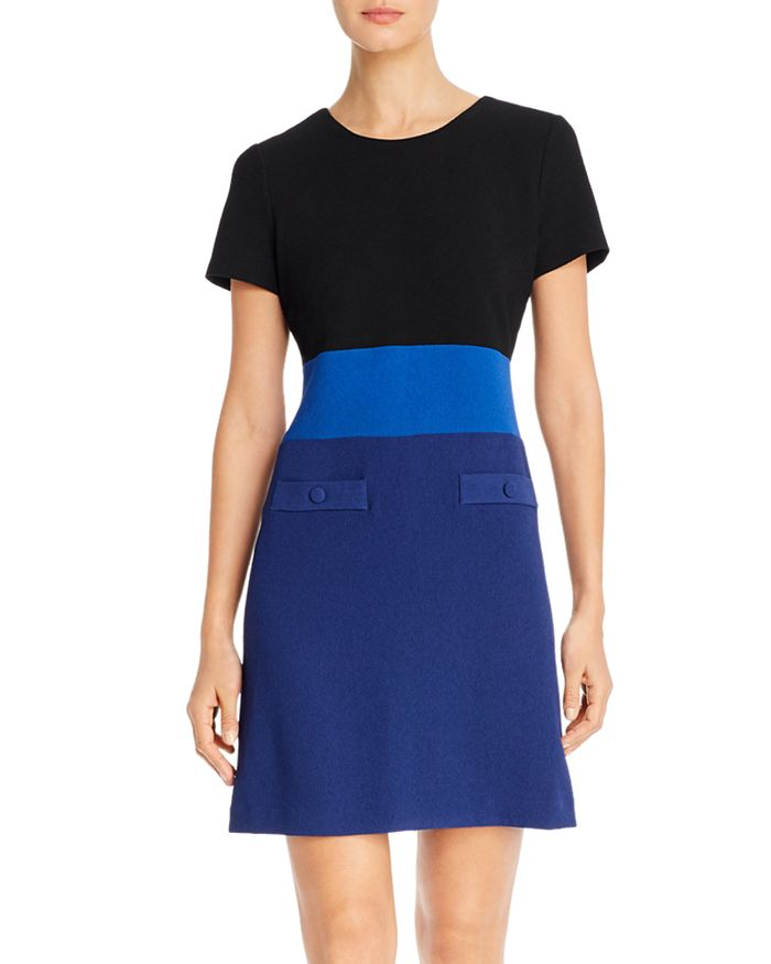 KARL LAGERFELD PARIS - Color-Block Dress
