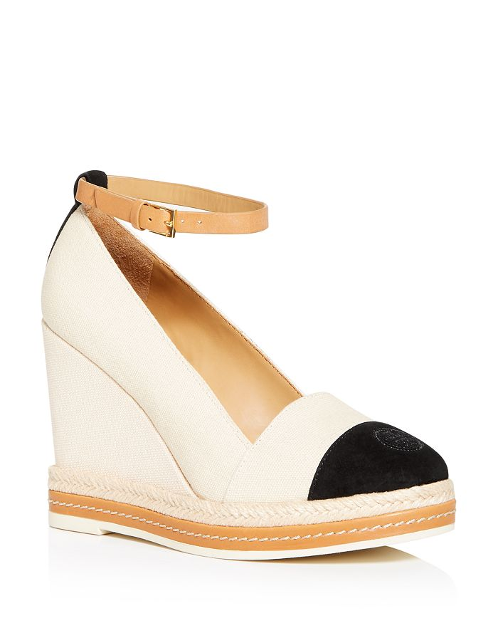 Tory Burch - Women's Color-Block Wedge Espadrilles