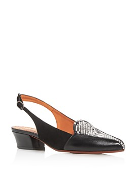 Chie Mihara - Women's Rusti Color-Block Slingback Pumps