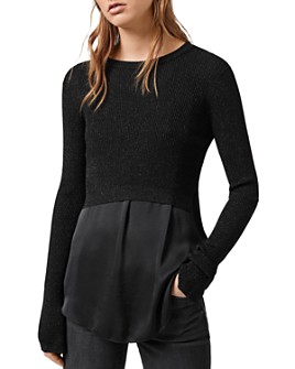 ALLSAINTS - Kowlo Shine Two-Piece Sweater