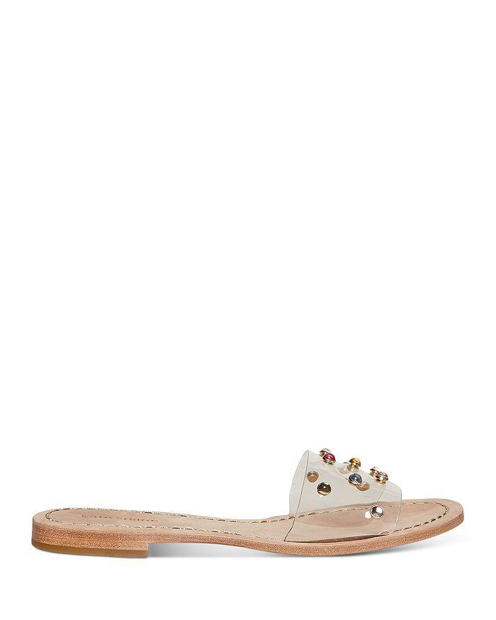 kate spade new york - Women's Stacie Rainbow-Rhinestone Slide Sandals
